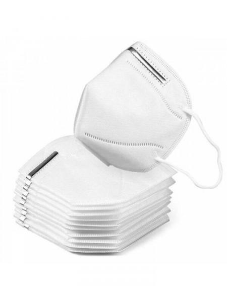 4 sluoksnių KN95 / FFP2 veido kaukė, respiratorius (50 vnt.)