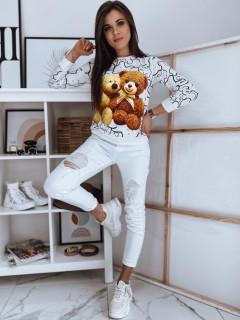Džemperis (Balts) Carmen stils stils