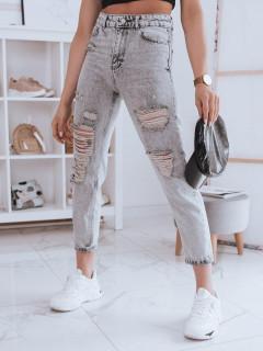 Moteriški džinsai (gaiši pelēka krāsa) Paula