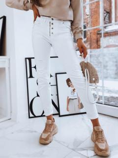 Moteriški džinsai (balts krāsa) Whitney