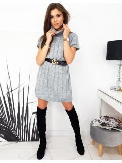 Megzta kleita (gaiši pelēka krāsa) Paula