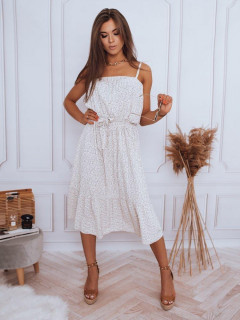 Sukienka w   DOLLA beżowa Dstreet EY1848