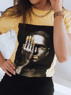 Moteriški marškinėliai (Dzeltens) Benna
