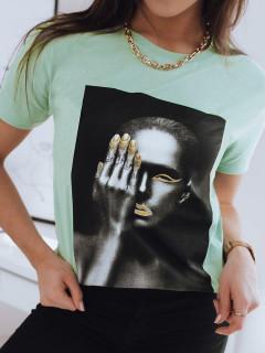 Moteriški marškinėliai (Zaļš) Alyssia