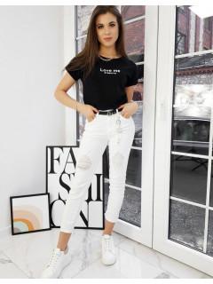Moteriški marškinėliai (Melns) Tella