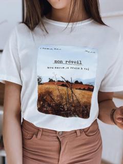 Moteriški marškinėliai (Balts) Milla