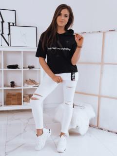 Moteriški marškinėliai (Melns) Berry