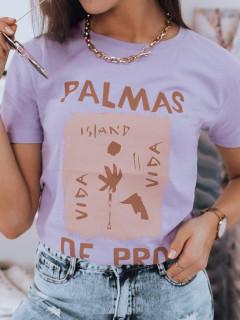 Moteriški marškinėliai (Purpurs) Bena