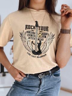 Moteriški marškinėliai (Brūns) Britany