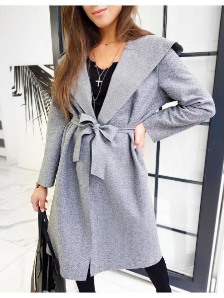 Moteriškas paltukas Dasy (gaiši pelēka krāsa)