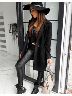 Moteriškas paltas Evelina (Melns)