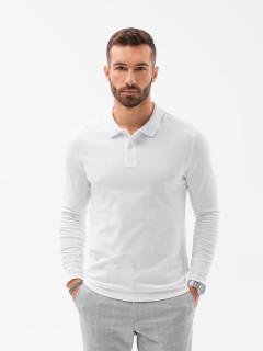 T-krekls ar garām piedurknēm (balts) Paul