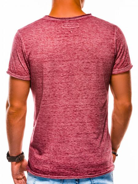 Vīriešu T-krekli Karson (bordo krāsa)