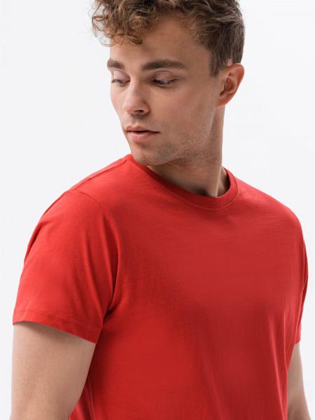 Vīriešu klajums t-shirt S1370 - sarkans Hunter