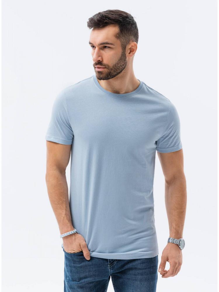 Vīriešu klajums t-shirt S1370 - gaiši zils Cooper