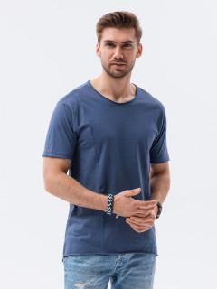 Vīriešu T-krekls (tumši zils) Devo