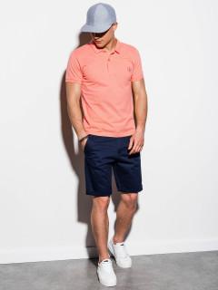 Vyriški polo marškinėliai Rory (koraļļu krāsa)