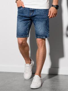 Vīriešu džinsa šorti W305 - zils Bartley