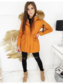 Moteriška žieminė jaka (Dzeltens) Selina