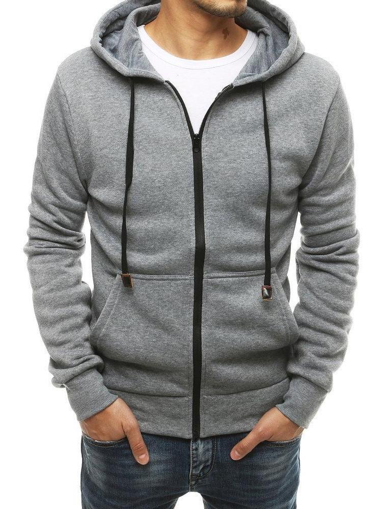 Vīriešu džemperis (gaiši pelēka krāsa) Adam