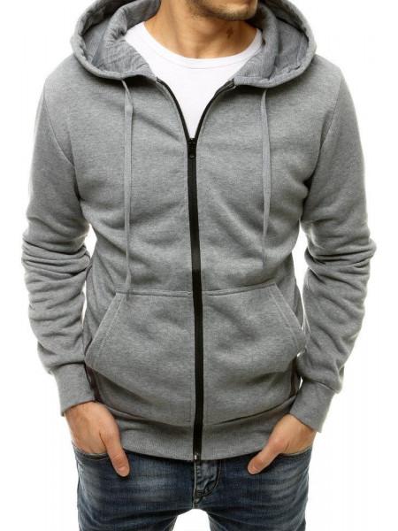 Vīriešu džemperis (gaiši pelēka krāsa) Eric