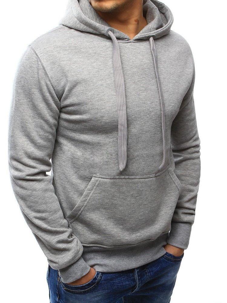 Vīriešu džemperis Ali (Pelēks krāsa)