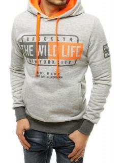 Vīriešu džemperis (Pelēks) Menis