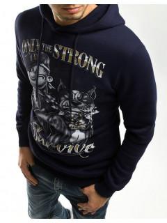 Vīriešu džemperis (Zils) Mark