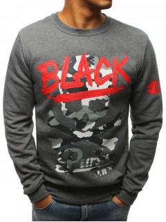 Vīriešu džemperis MATTEO (Tumši pelēka krāsa)