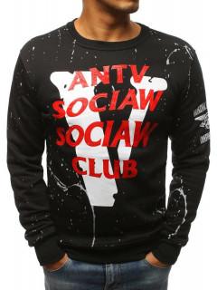 Vīriešu džemperis Sean (Melns krāsa)