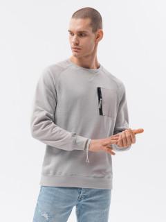 Vīriešu džemperis (gaiši pelēks) Emon