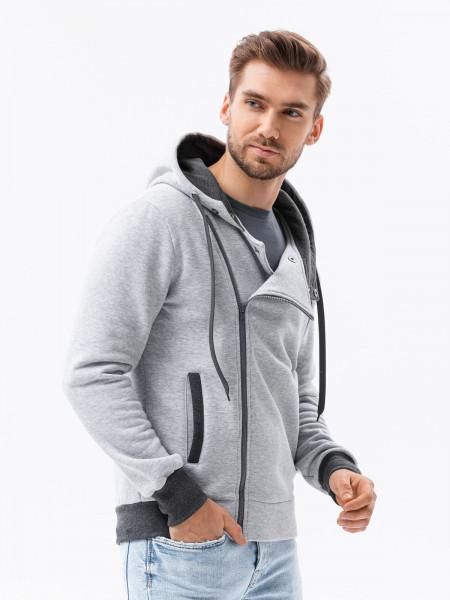 Vīriešu džemperis Jase (Pelēks krāsa)