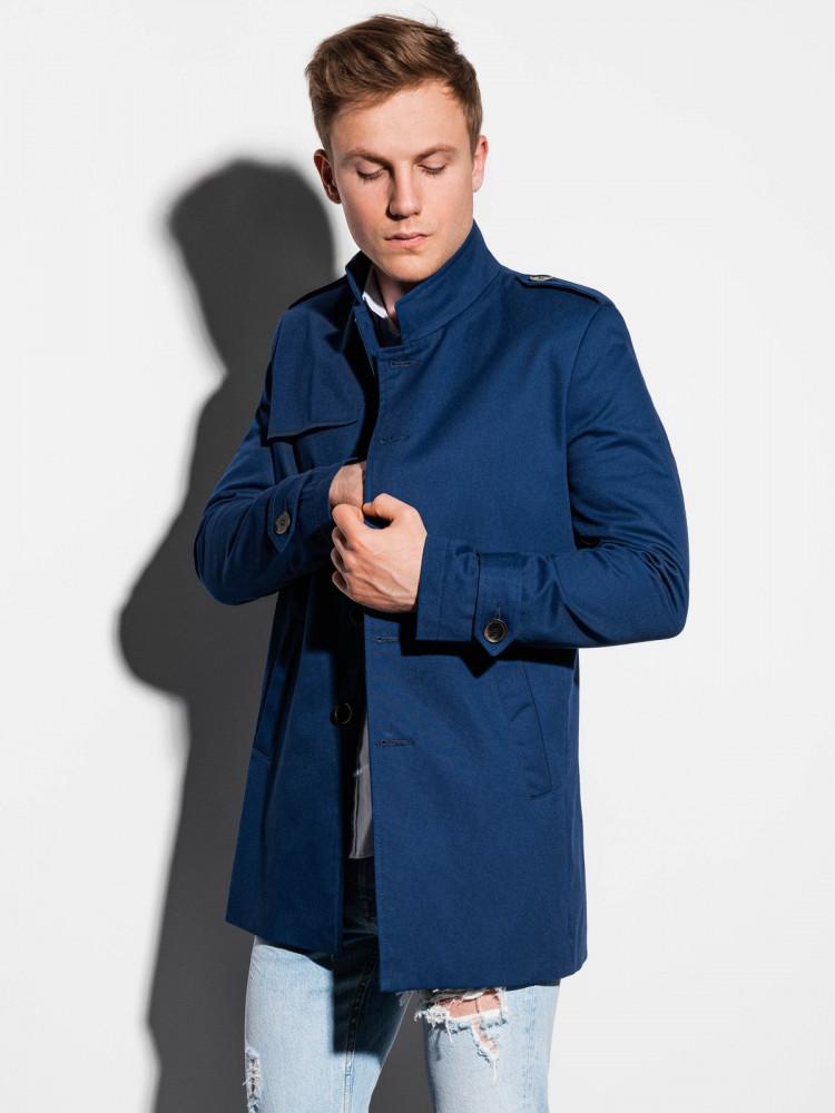 Vīriešu mētelis Keary (tumši zila krāsa)