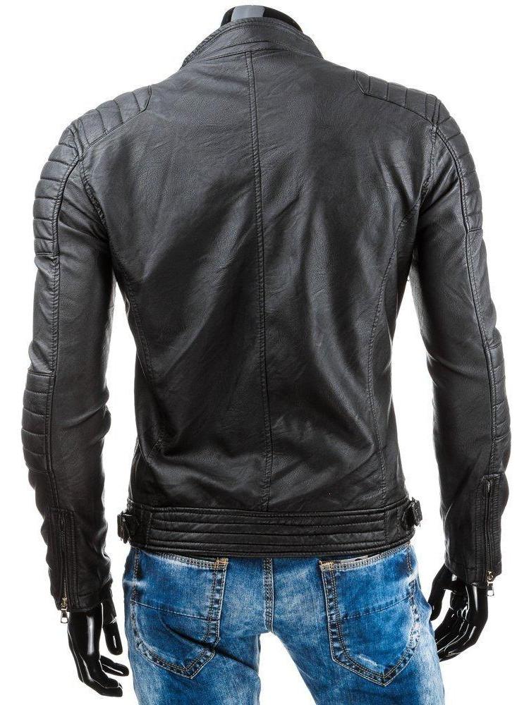 Vīriešu odinė jaka Samuel