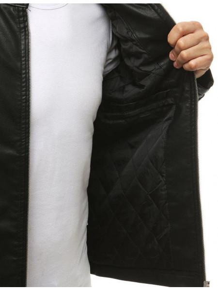 Vīriešu odinė jaka Fill (Melns)