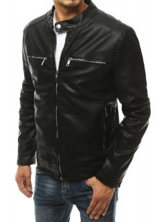 Vīriešu odinė jaka Nigel (Melns)