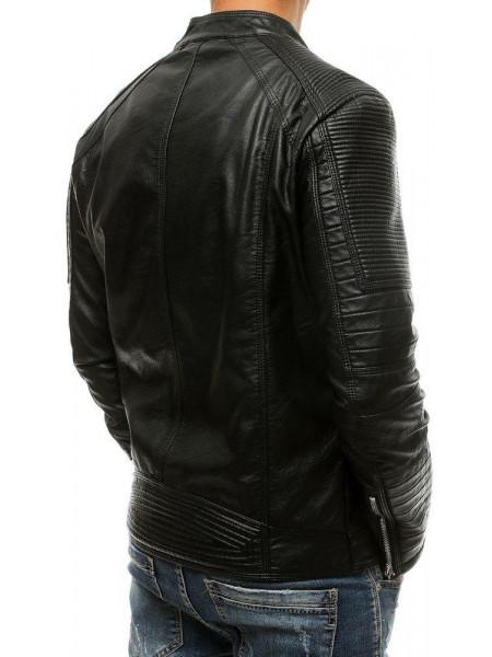 Vīriešu odinė jaka (Melns) Jammie