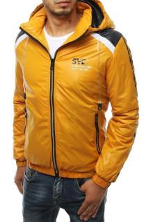 Vīriešu rudeninė jaka (Dzeltens) Leo