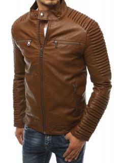 Vīriešu odinė jaka (Karamelinė) Ted