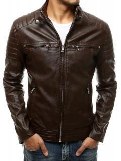 Vīriešu odinė jaka (Brūns) Gesso