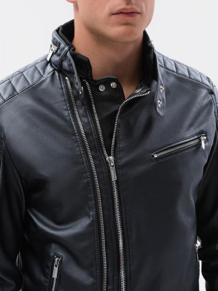 Vīriešu odinė jaka Marcelo