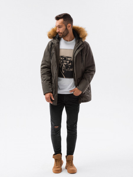 Vīriešu ziemas jaka Itachi c512