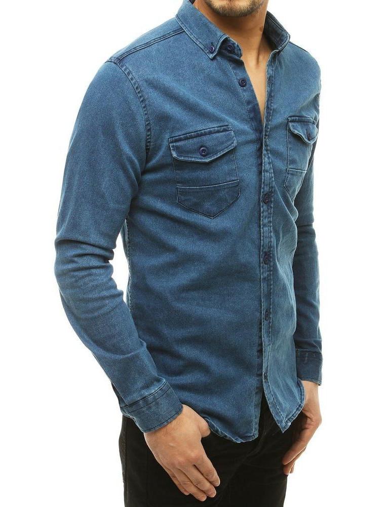Vīriešu krekli (Zils) Drake