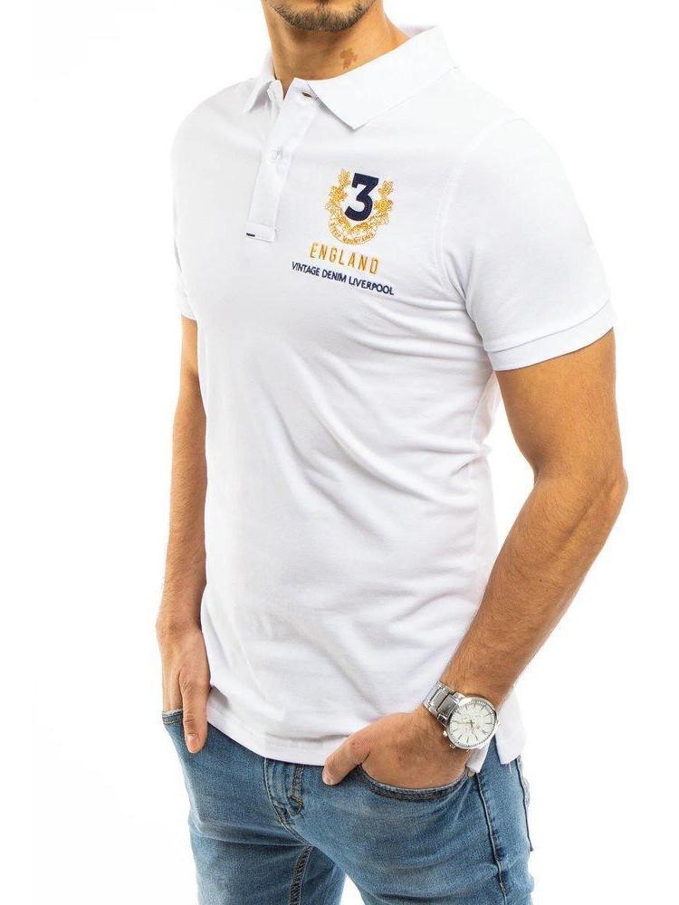 Polo krekls (Balts) Nigel