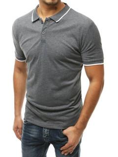 Koszulka polo męska szara Dstreet PX0318