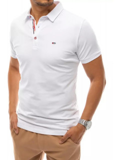 Koszulka polo biały Dstreet PX0499