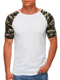 Vīriešu krekls Nacala S1476 - balts