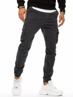 Spodnie męskie bojówki ciemnoszare Dstreet UX3181