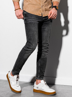 Vīriešu džinsi (Pelēks)