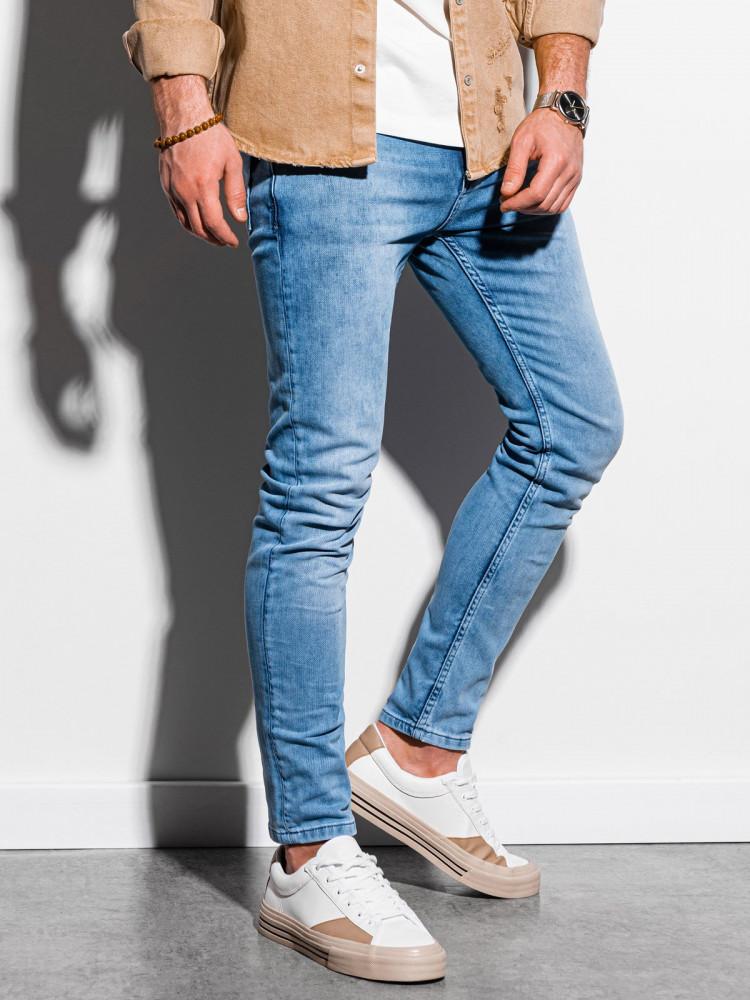 Vīriešu džinsi (Šviesiai zila krāsa) Austin